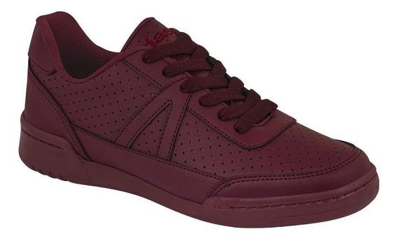 Tenis Sneakers Mujer Casual Urbano Tipo Piel Tntos Micro Per
