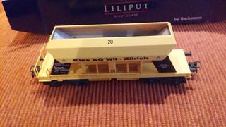 Vagón Liliput Cemento Y/o Áridos. Ferrocarriles Suizos