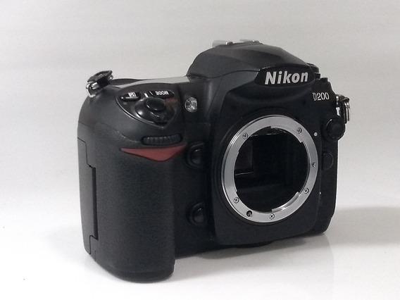 Câmera Nikon D 200 Super Conservada
