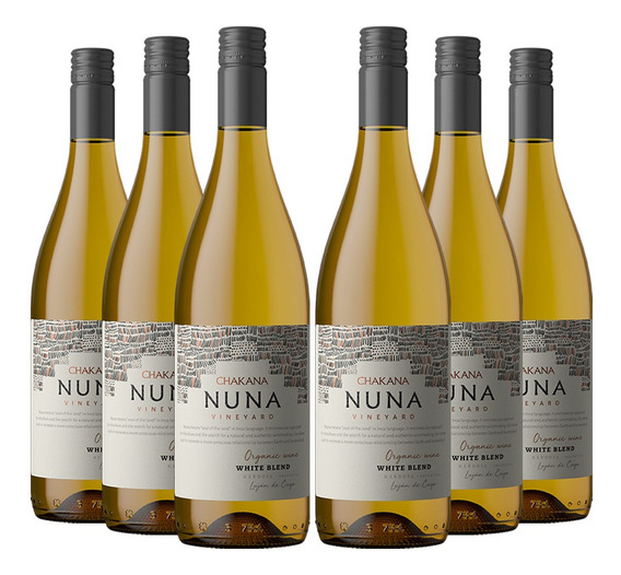 Vino Por Caja Nuna Vineyard White Blend (6x750 Ml) Organico