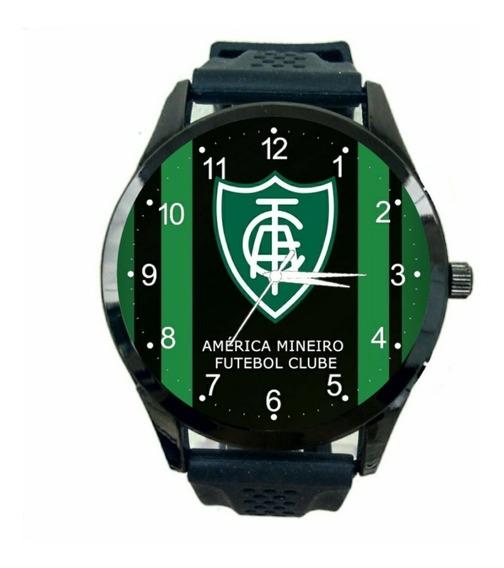 Relógio America Mineiro Feminino Futebol Esporte Club T807