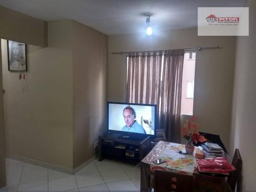 Imagem 1 de 11 de Apartamento Com 2 Dormitórios À Venda, 47 M² Por R$ 230.000,00 - Cangaíba - São Paulo/sp - Ap1443