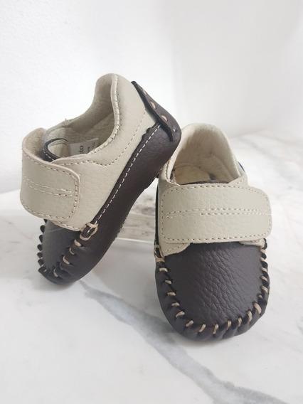 Mocasin Bebe Velcro