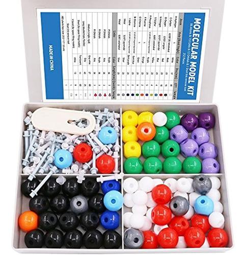 Juego De 240 Modelos Moleculares Para Química