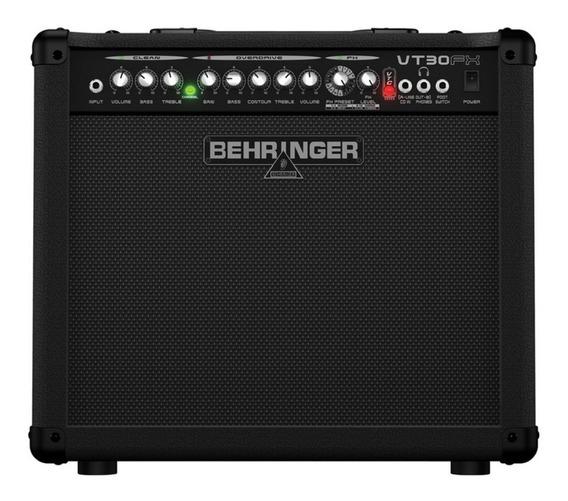 Amplificador Guitarra Behringer Virtube Vt30fx 30w Promo!!!!
