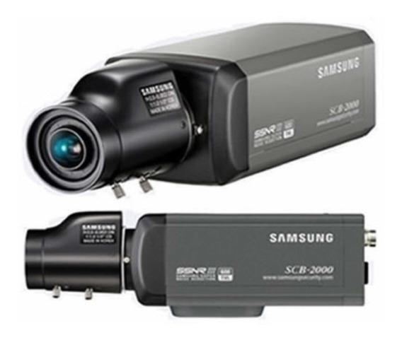 Câmera Com Lente 2.8-12mm Scb-2000 Cftv Promoção