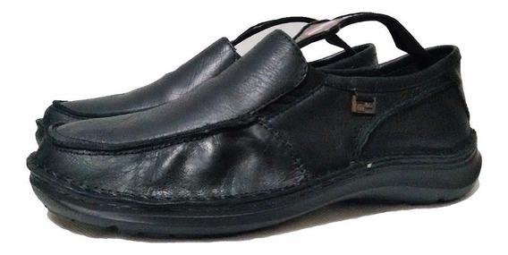 Zapato Comfort Boating Color Negro
