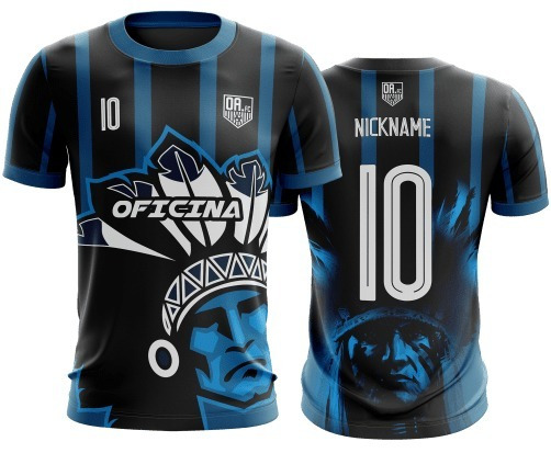 Kit Uniforme 10 Camisa D Futebol Personalizado Dryfit