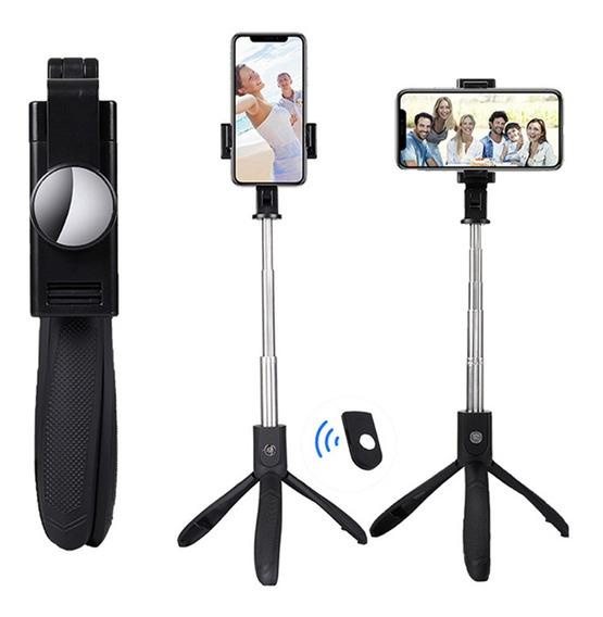 Tripé De Bastão De Selfie Bluetooth Sem Fio