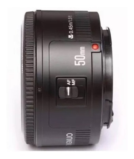 Lente Yongnuo 50mm F/1.8 P/ Canon
