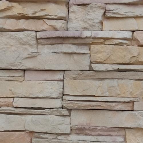Revestimiento Simil Piedra Razzante Andes Crema Oxidada Nat