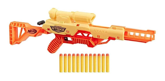 Pistola Lanzadardos Nerf Alpha Strike Wolf Lr-1 E7568