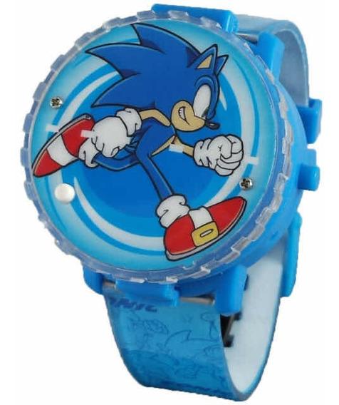 Reloj Sonic Spinner Led