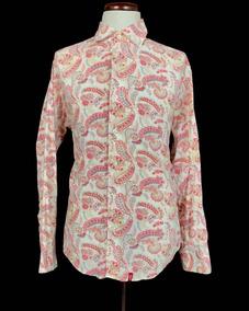 Camisa Levis Vintage Style Paisley Retro Patterns Large