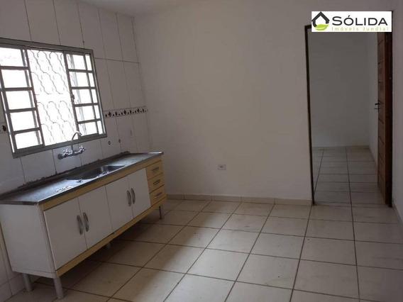 Casa Com 2 Dormitórios Para Alugar, 84 M² Por R$ 950/mês - Vila Chacrinha (botujuru) - Campo Limpo Paulista/sp - Ca0117
