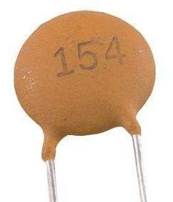 500 Capacitores Ceramico Pf 50v - 10 Pacotes De 50 Pçs