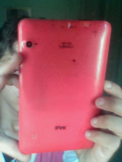 Tablet Bak Vermelho, Camera Frontal E Traseira, Android 4.5