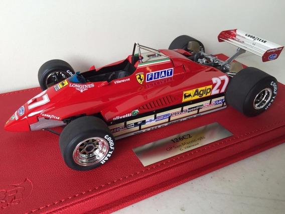 Miniatura F1 Ferrari 126 C2 Giles Villeneuve Monaco Bbr 1/18