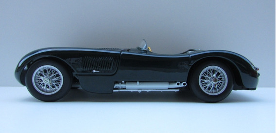 Veículo Em Miniatura - Jaguar 120-c-