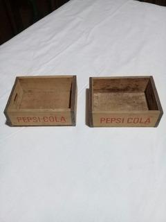 Cajoncitos Pepsi Cola Miniatura Años 60
