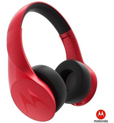 Fone Ouvido Wifi Motorola Headphone Vermelho Pulse Escape