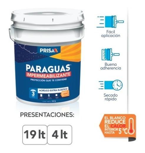 Impermeabilizante Paraguas 3 Años/3 Cubetas