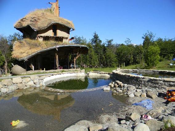 Cabaña Monoambiente Unica Arquitectura Natural Con Pileta