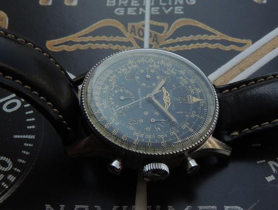 Breitling Navitimer Aopa De 1956 - Ref 806 Aço Ñ Polido