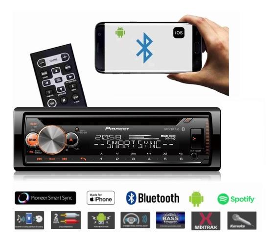 Cd Player Pioneer Deh-x500br Bluetooth Karaoke Mixtrax Usb