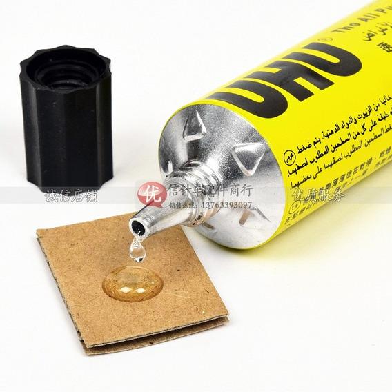 Adhesivo Uhu Universal Pomo 20ml - Pegamente Transpante 20cc