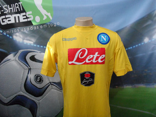Camisa Do Napoli Usada No Italiano 2016 !!