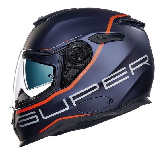 Capacete Nexx Sx100 Superspeed Azul Fosco Lançamento