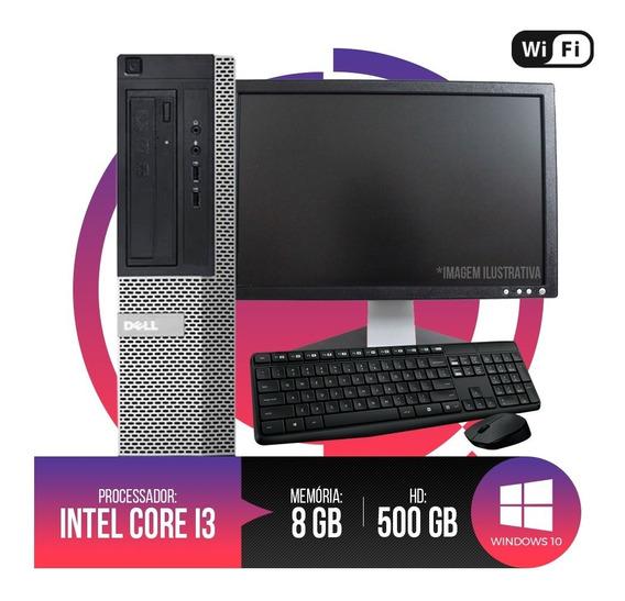 Pc Completo Dell Optiplex Core I3, 8gb Ram Ddr3, Hd 500gb...