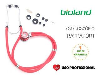 Estetoscópio Rappaport Colorido Uso Adulto E Infantil Er200