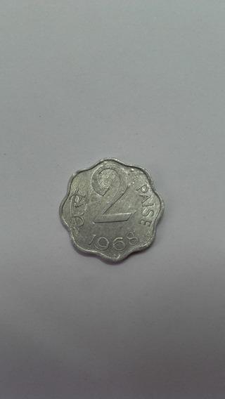 Moneda India 1968