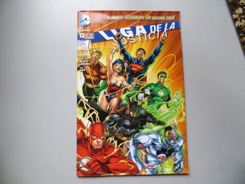 Liga De La Justicia N° 1 2011 Dc Comics