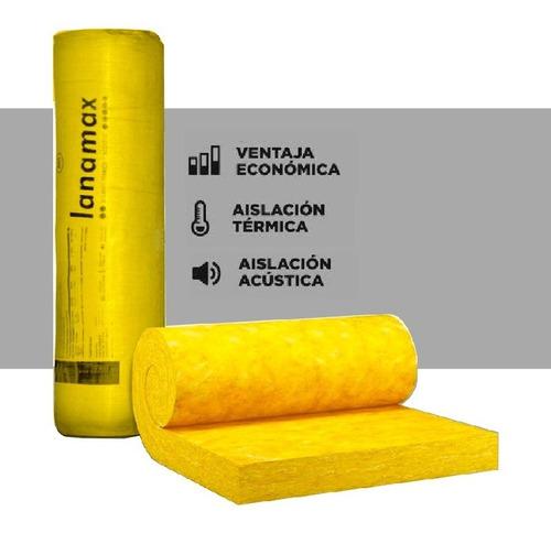 Lana De Vidrio Aislante 50 Mm X 24 Metros - Cuotas S/int.