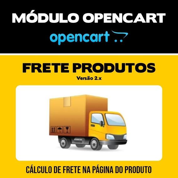 Módulo Frete Na Página De Produtos Lojas Opencart