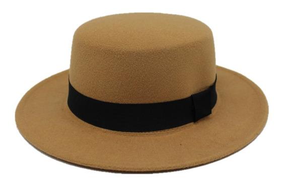 Sombrero Cordobes Unisex Vintage Hipster Elegante Flexible