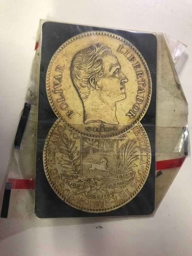 Imagen 1 de 2 de Tarjeta Telefonica Cantv Coleccion 5 Venezolanos De Oro Mone