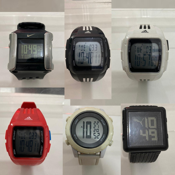 Kit Com 6 Relógios 100% Originais De Marca Em Ótimo Estado