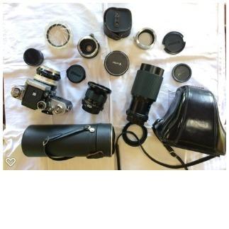 Nikon F1 E Acessórios.