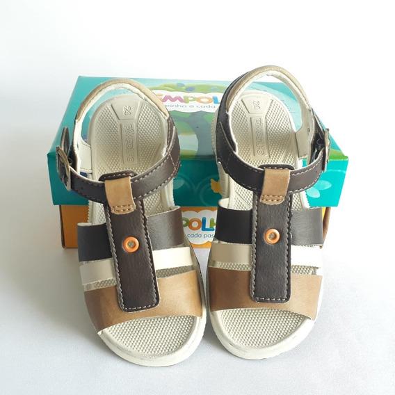 Sapato Infantil Menino Pimpolho Marrom