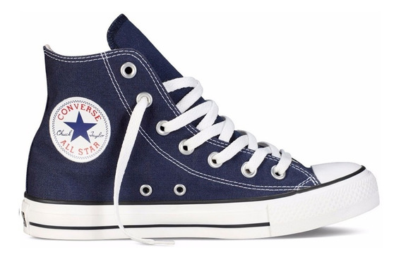Zapatillas Converse Chuck Taylor All Star Hi Navy (6996)