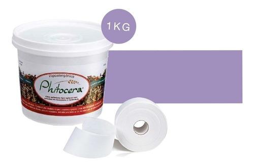 Cera Phitocera 1 Kg  + Rolo De Falso Tecido
