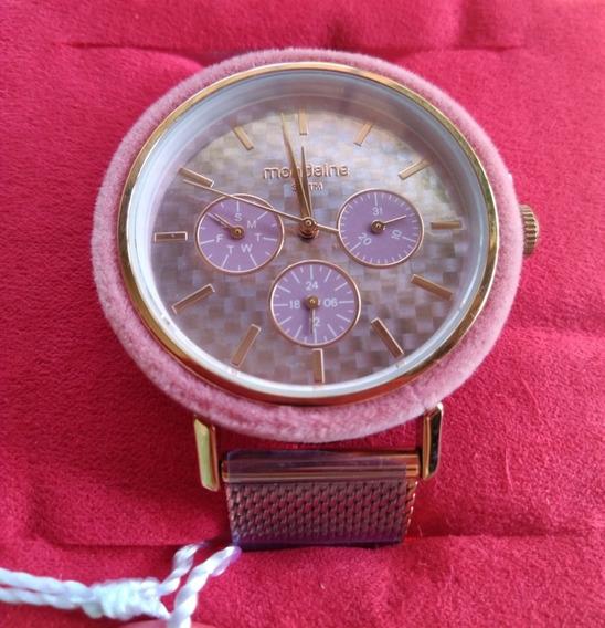 Relógio Feminino Bronze Rosado
