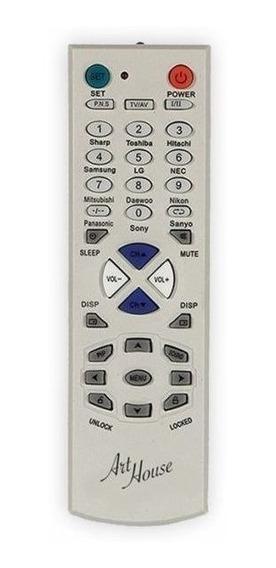 Controle Remoto Tv Universal Tubo Lcd Plasma Promoção Casa