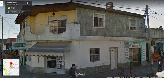 Venta En Block Locales Comerciales + Casa Depto San Fernando