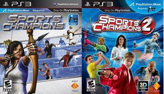 Sports Champions 1 & 2 ~ Ps3 Digital Español