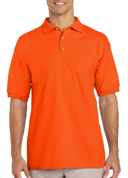 Playera Tipo Polo Caballero National Style